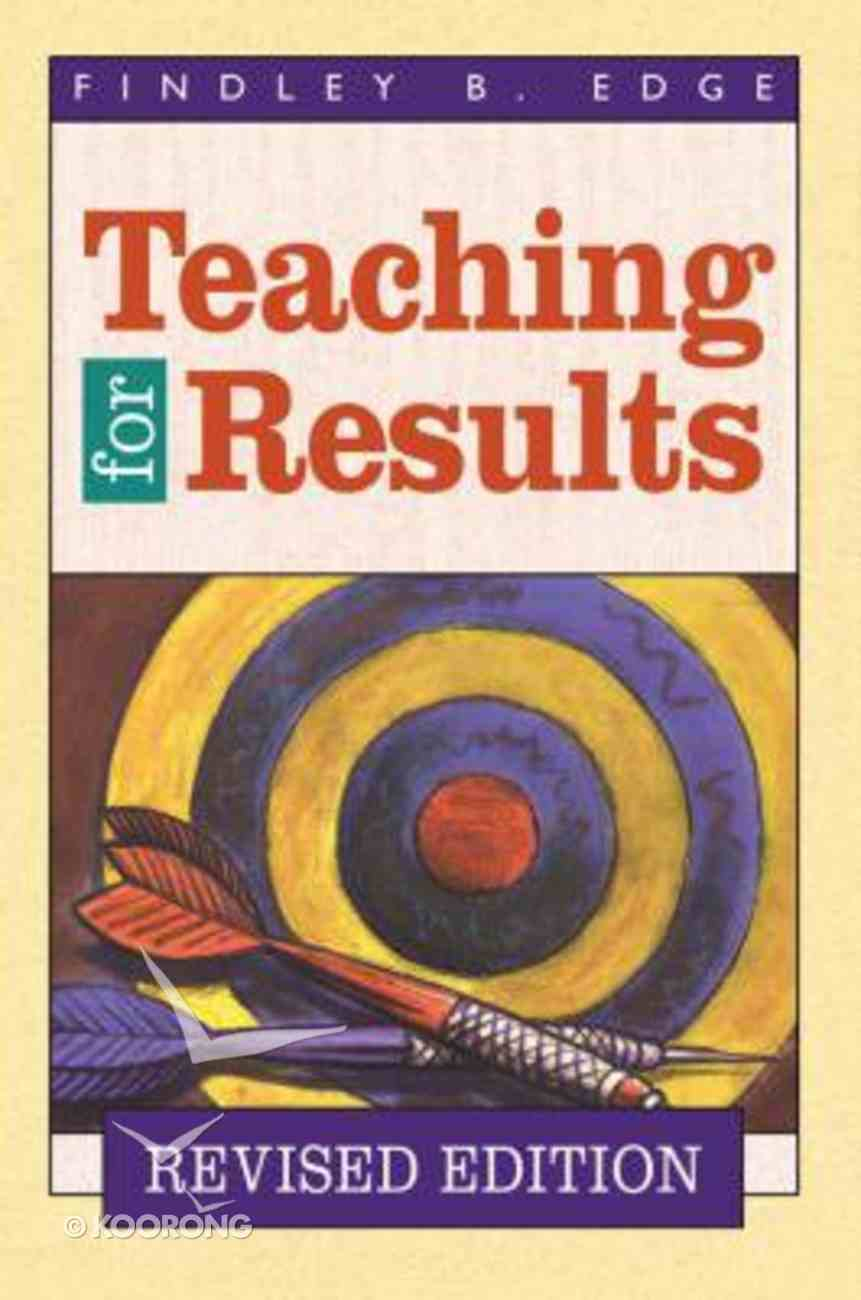 Teaching For Results (1999) Paperback