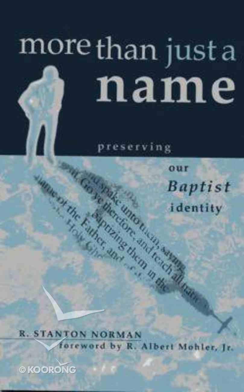 More Than Just a Name Hardback