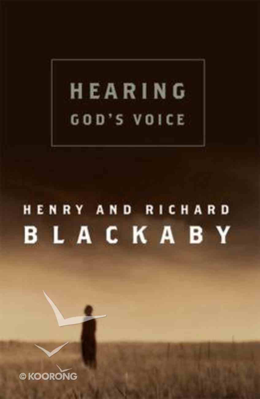 Hearing God's Voice Hardback