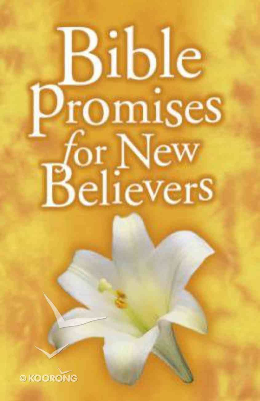 Bible Promises For New Believers Paperback
