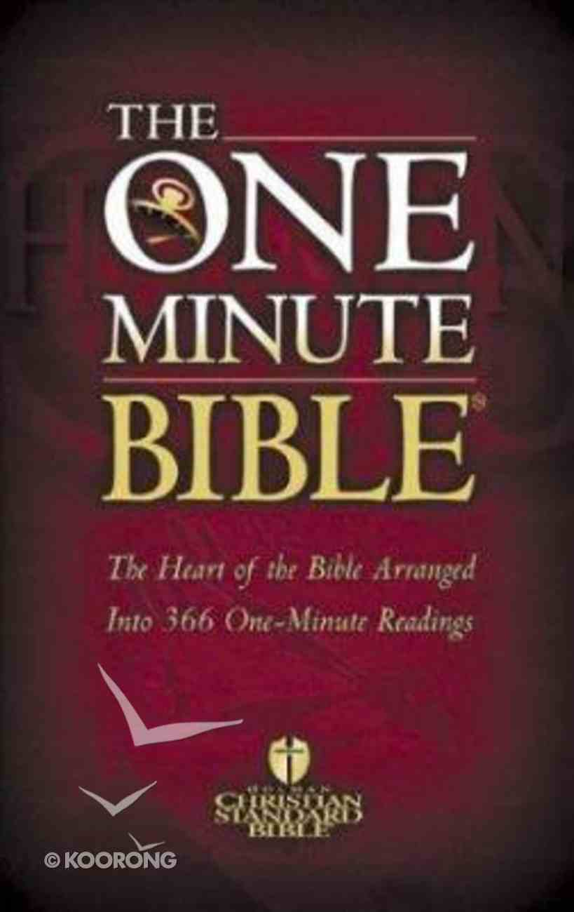 HCSB: One Minute Bible Paperback