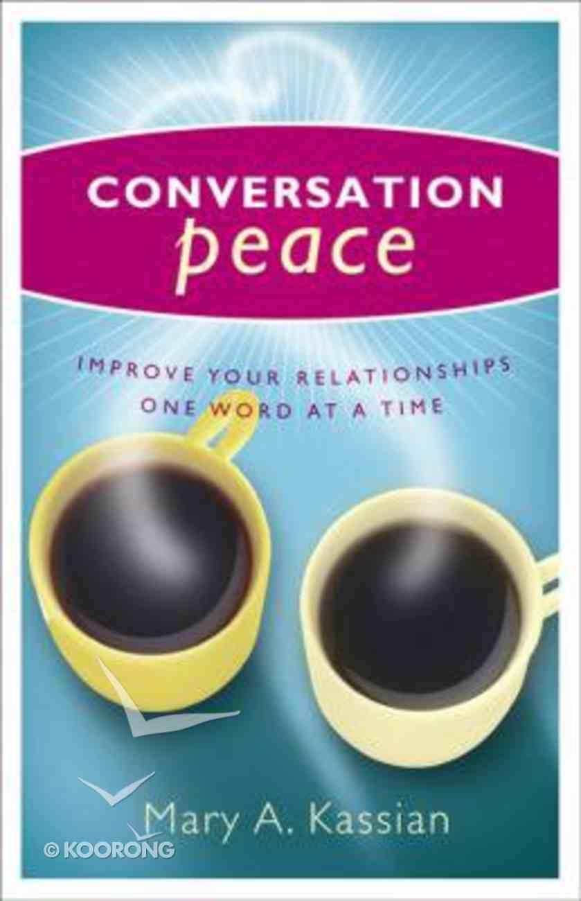 Conversation Peace Paperback
