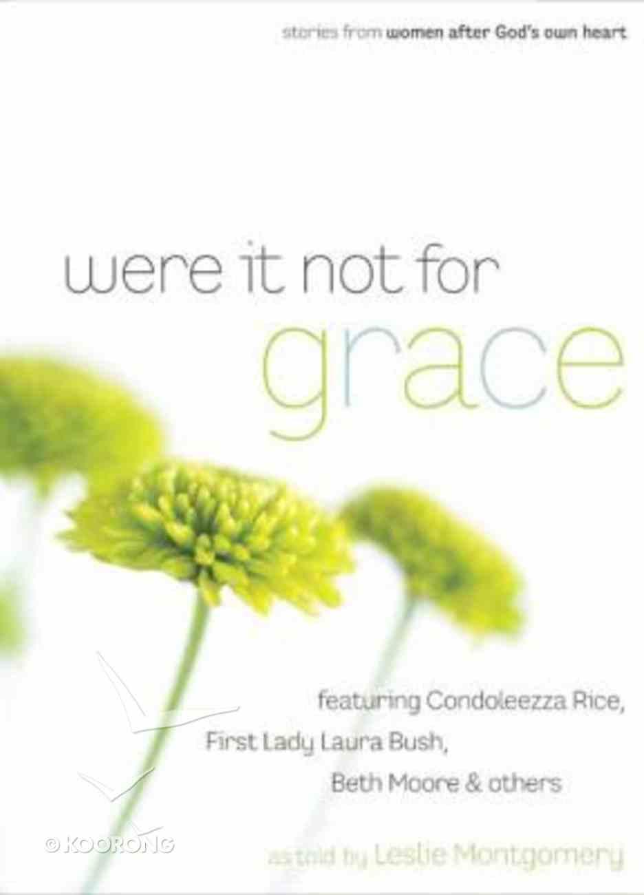 Were It Not For Grace Hardback
