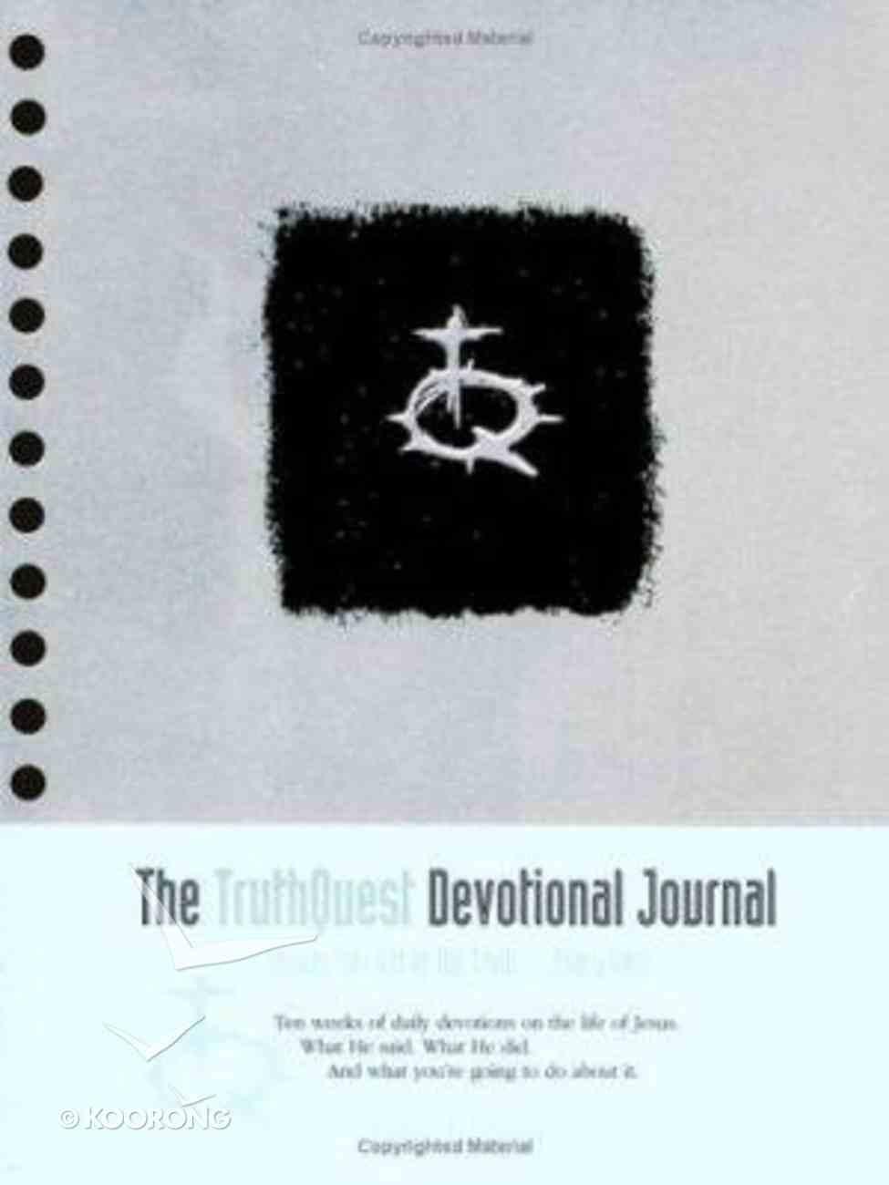 Truthquest Devotional Journal (Truthquest Series) Spiral