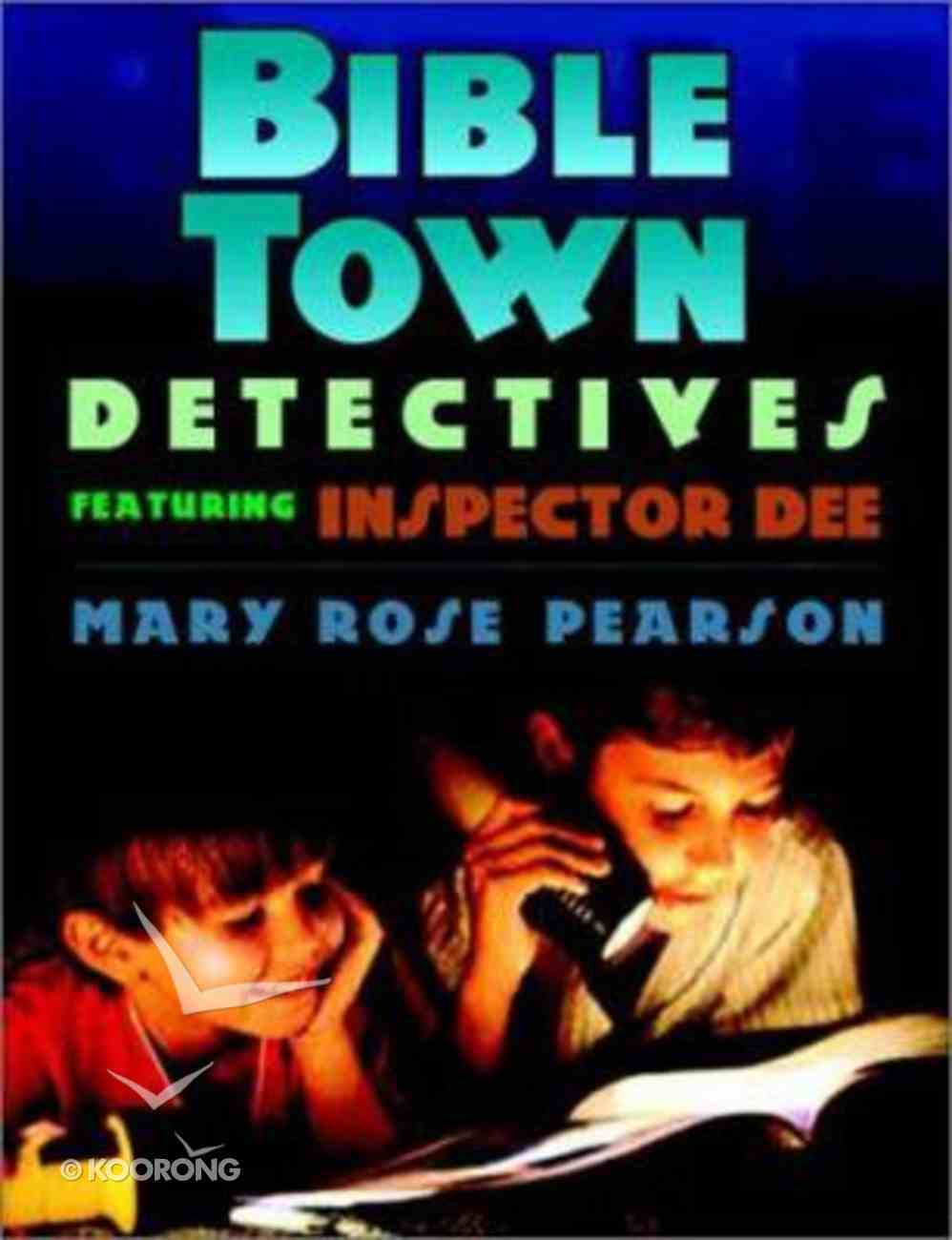 Bible Town Detectives Paperback