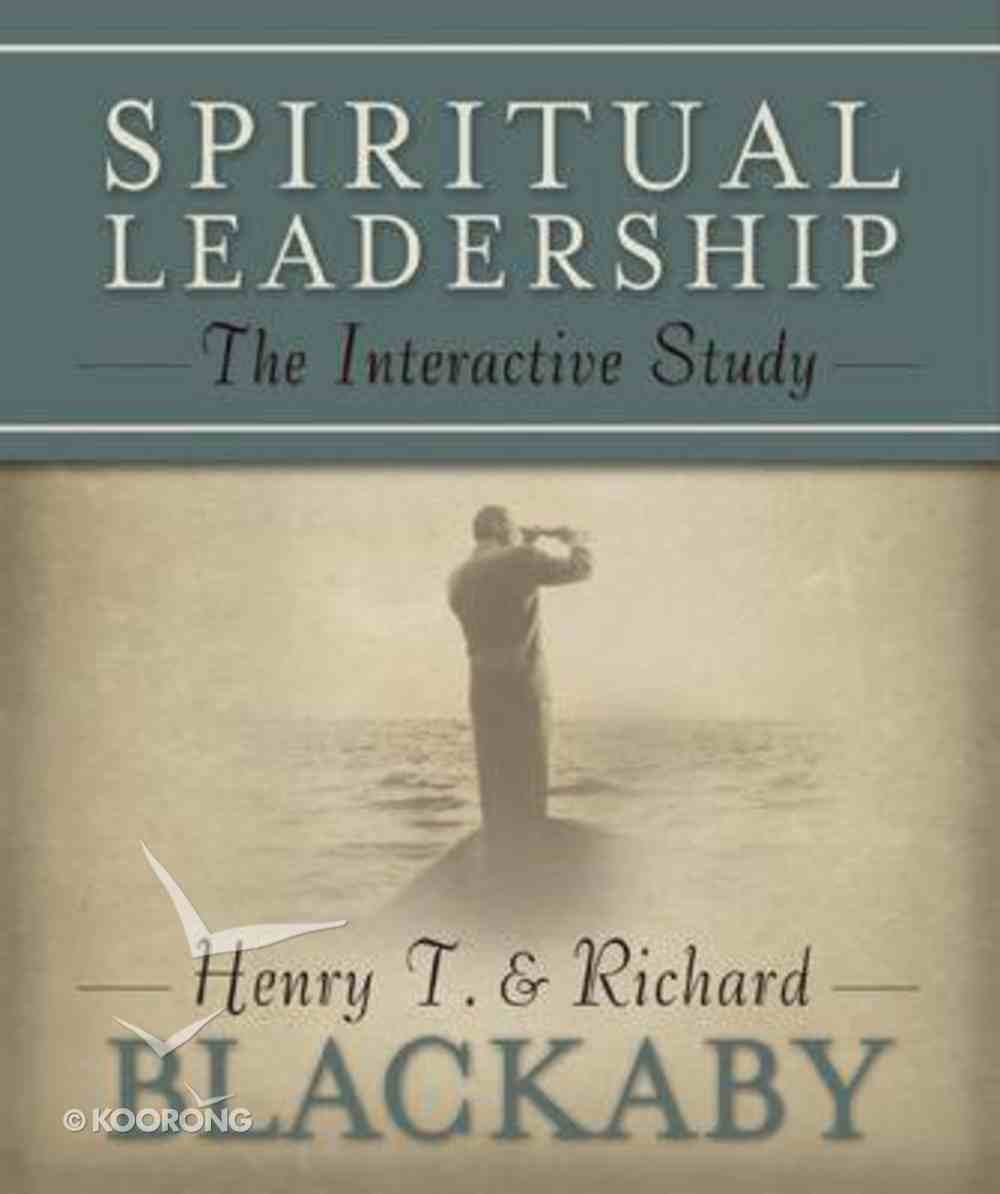 Spiritual Leadership Workbook Paperback