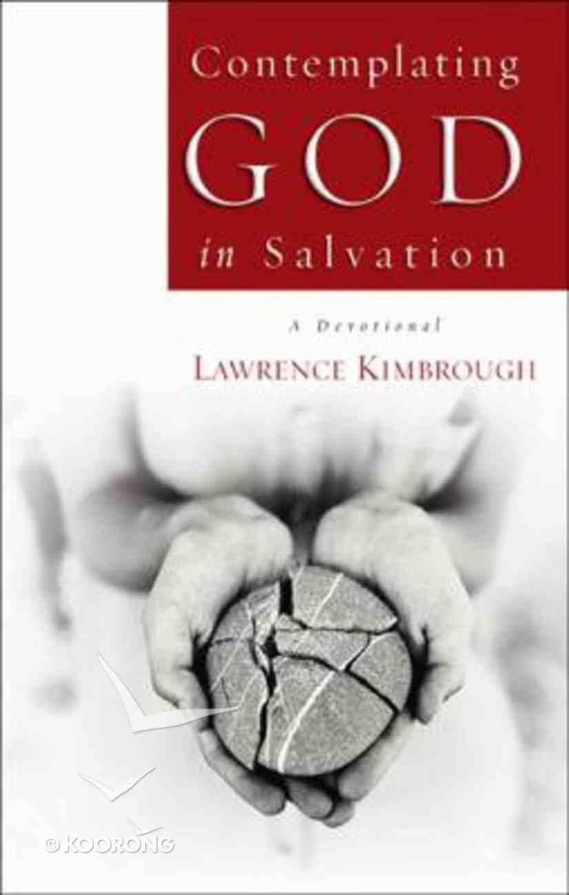 Contemplating God in Salvation Paperback