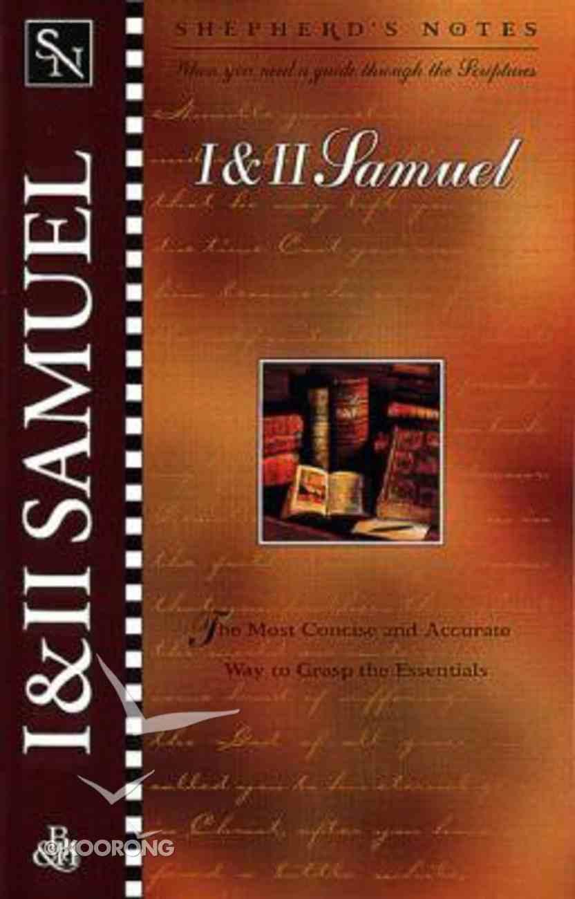 1 & 2 Samuel (Shepherd's Notes Series) Paperback