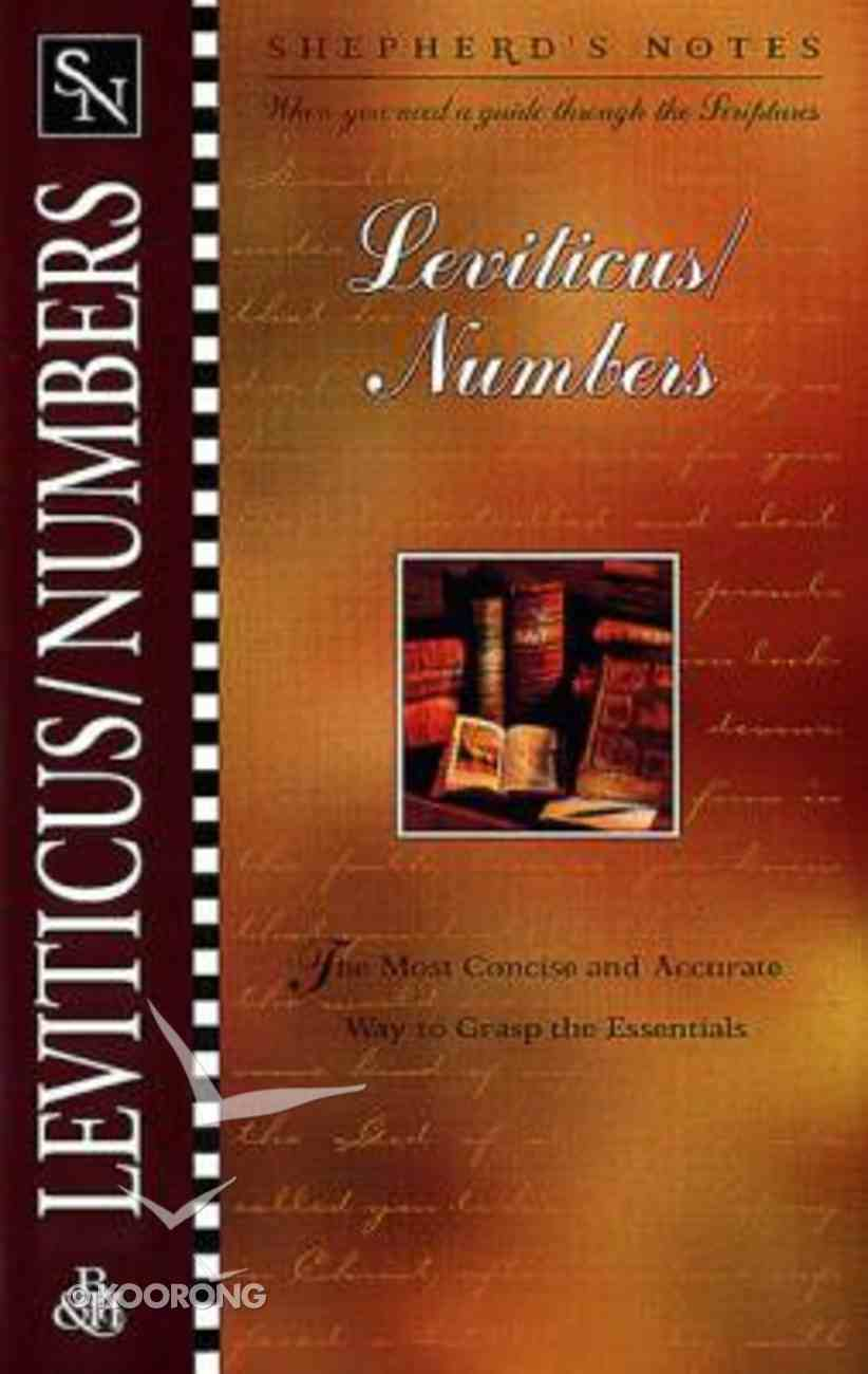 Leviticus/Numbers (Shepherd's Notes Series) Paperback