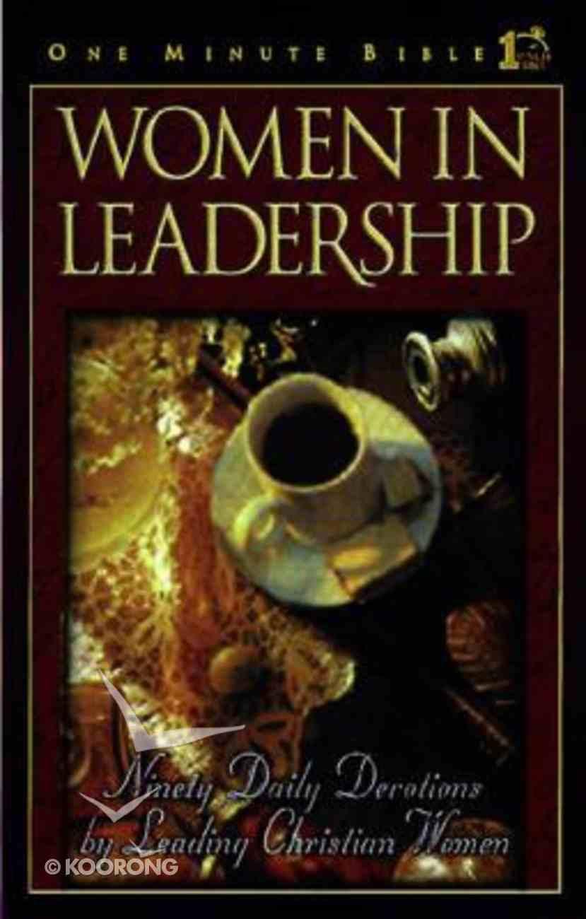 Women in Leadership (One Minute Bible Series) Hardback