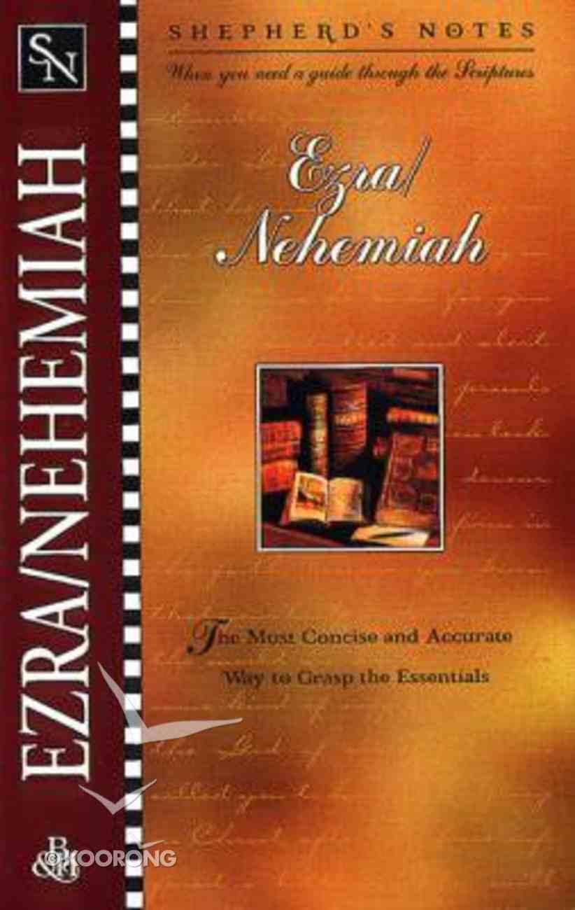 Ezra/Nehemiah (Shepherd's Notes Series) Paperback