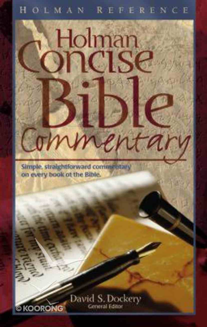 Holman Concise Bible Commentary Hardback