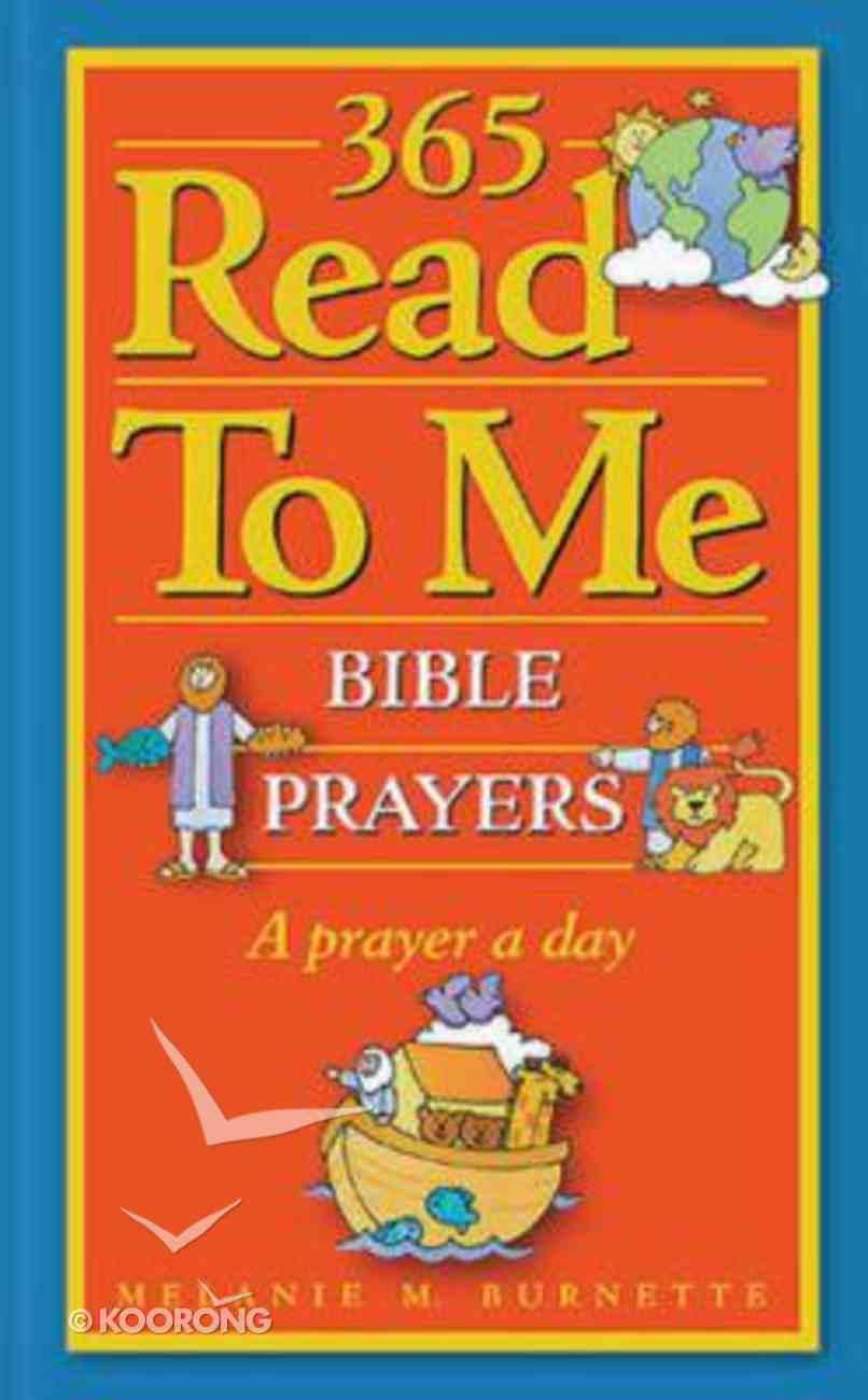 365 Read to Me Prayers Hardback