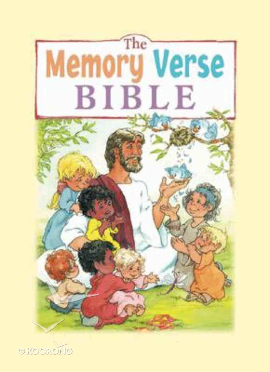 The Memory Verse Bible Storybook Hardback