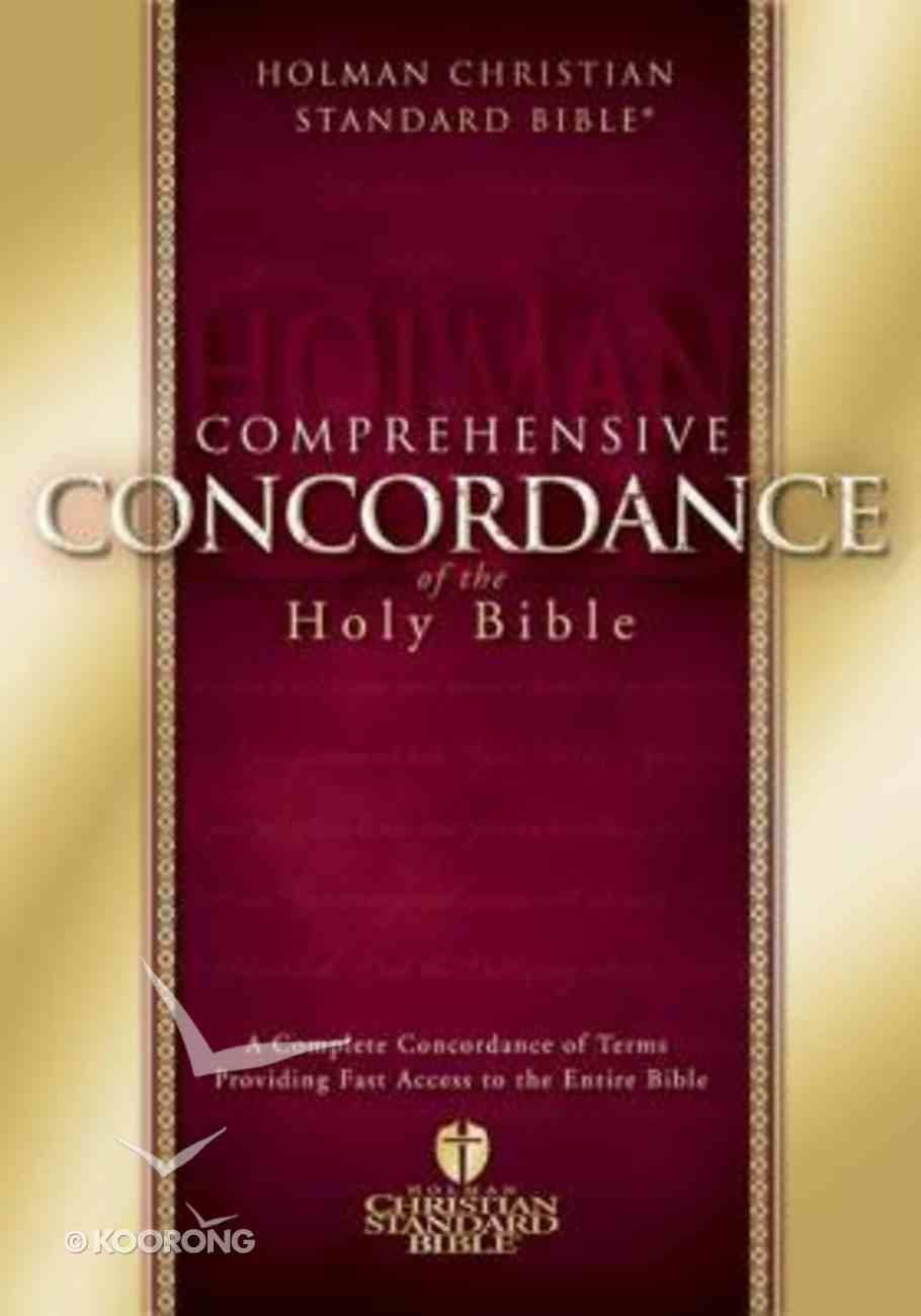 HCSB Holman Comprehensive Concordance Hardback