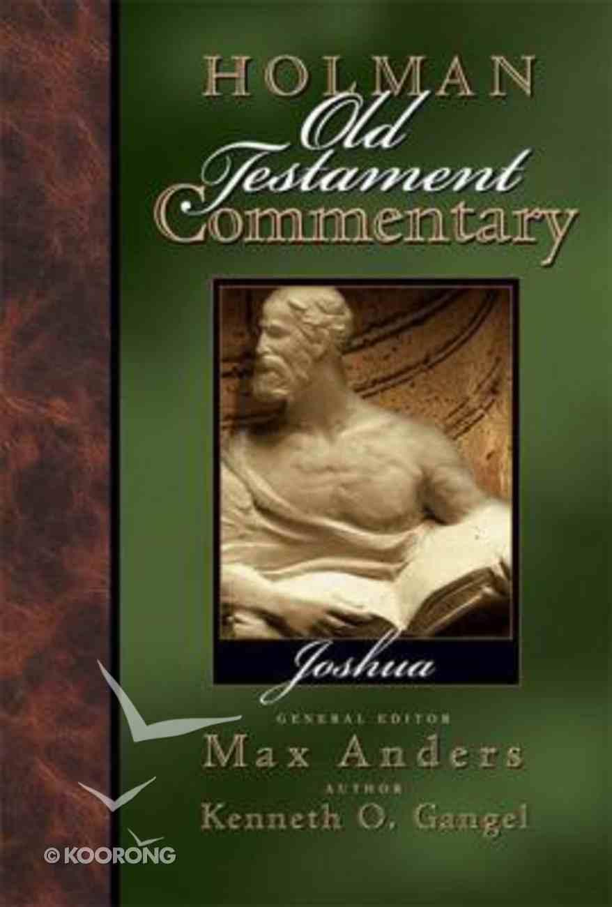 Joshua (#04 in Holman Old Testament Commentary Series) Hardback