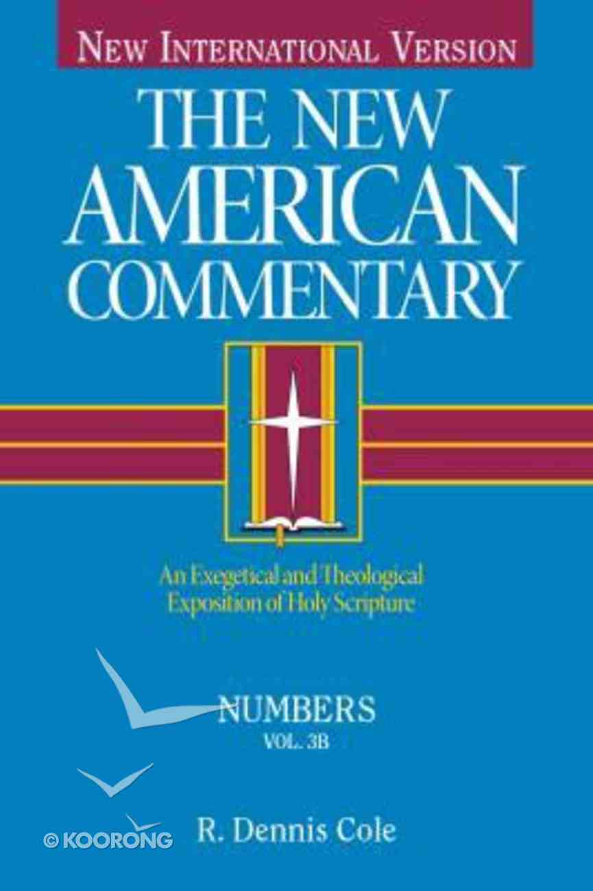 Numbers (#03B in New American Commentary Series) Hardback