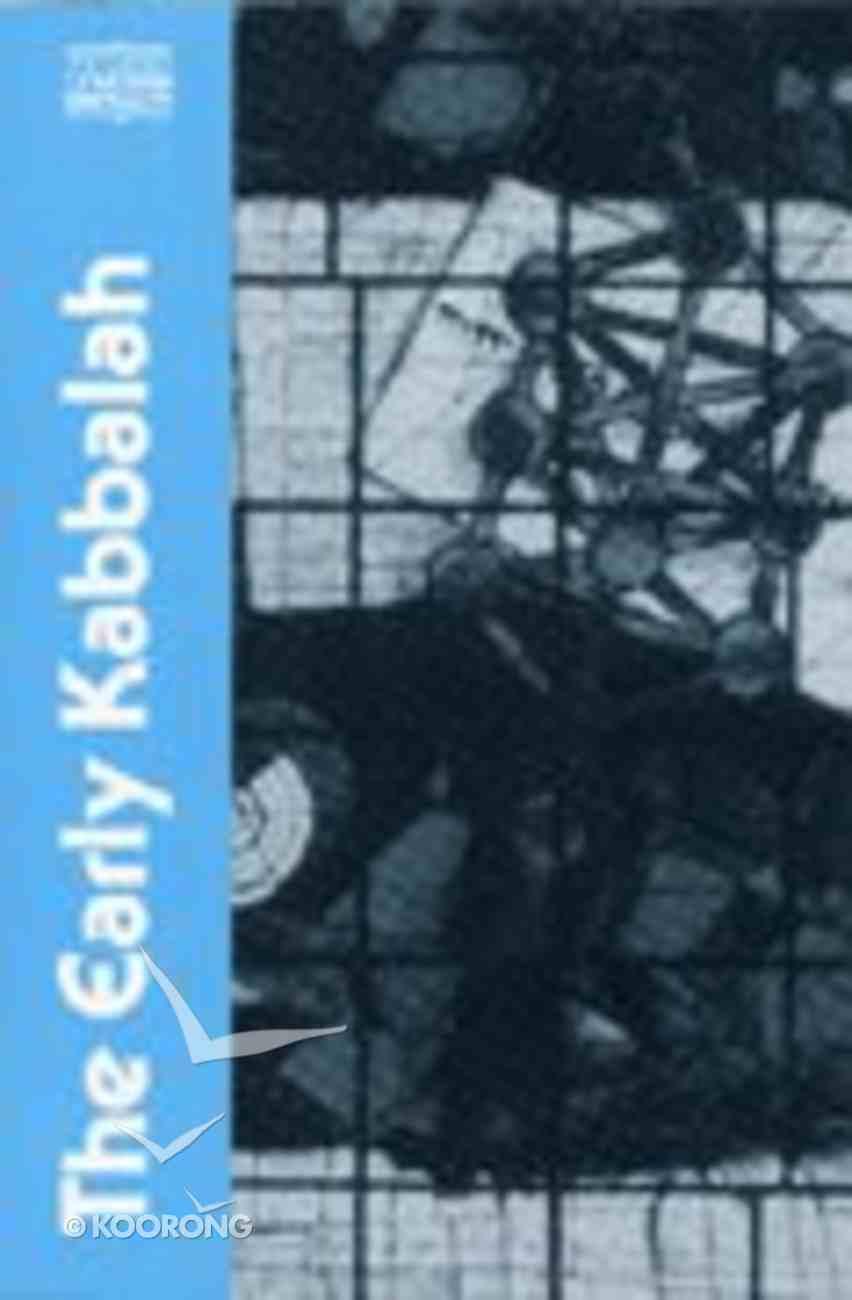 The Early Kabbalah Paperback