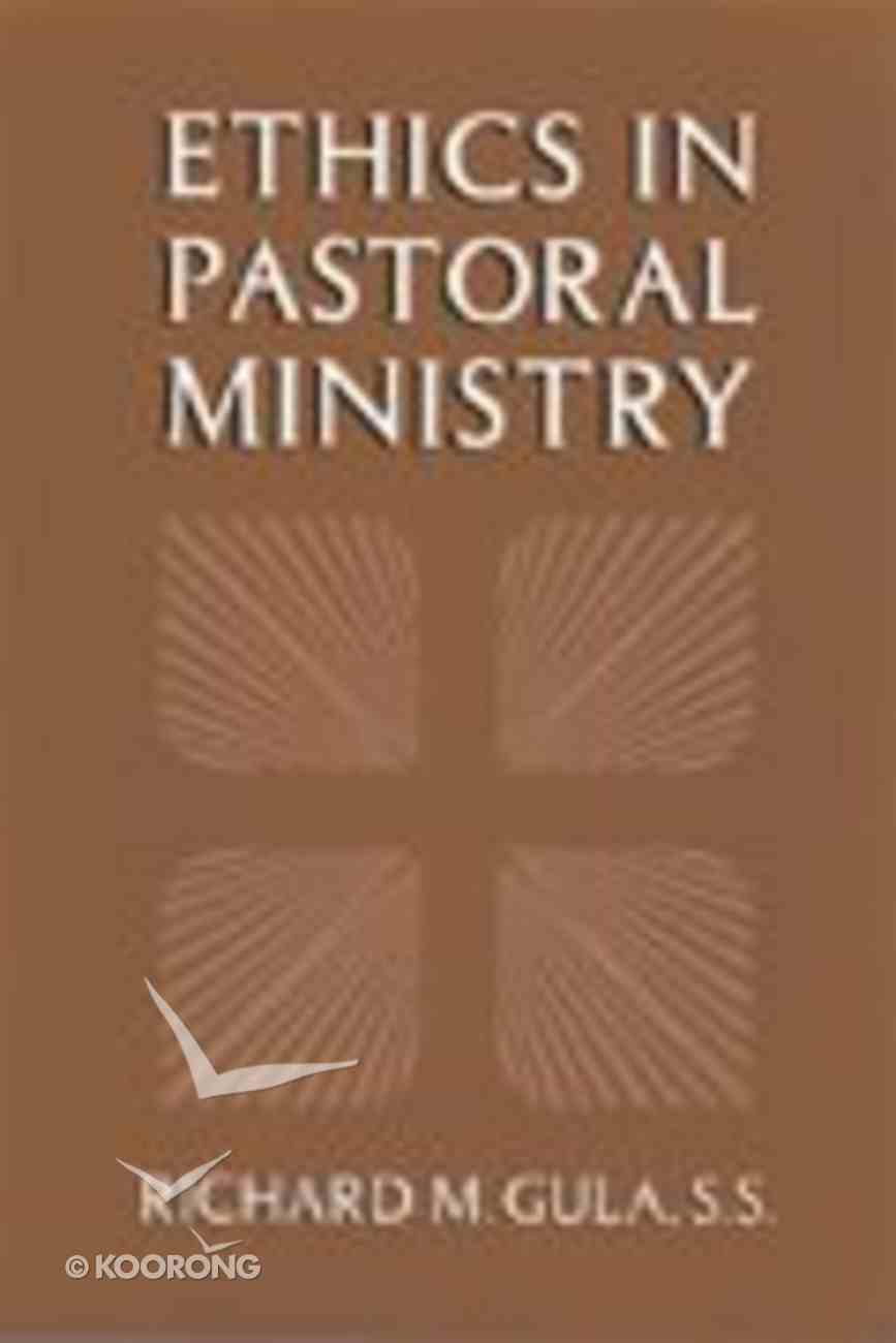 Ethics in Pastoral Ministry Paperback