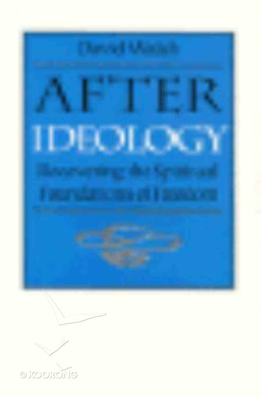 After Ideology Paperback