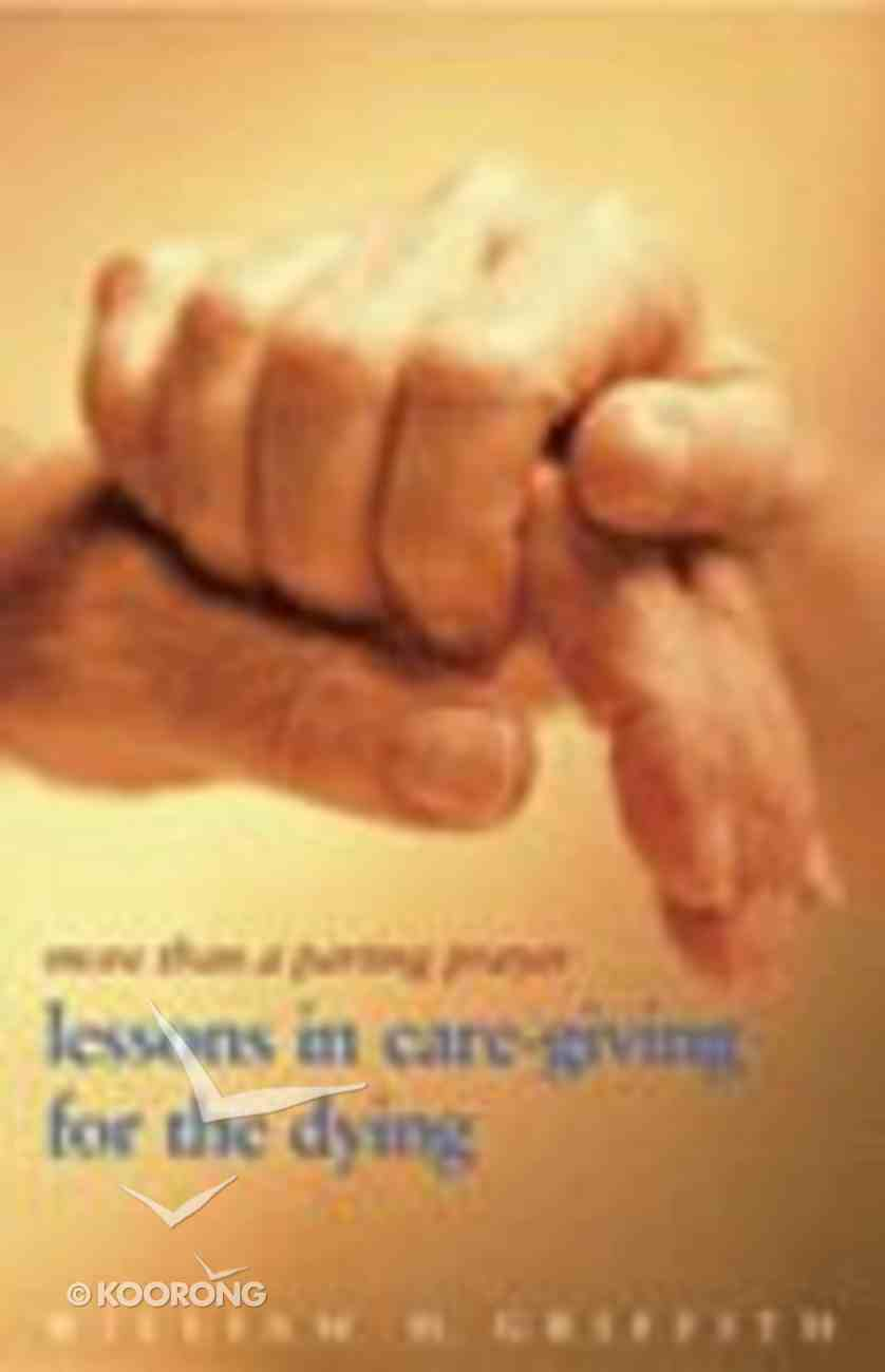 More Than a Parting Prayer Paperback