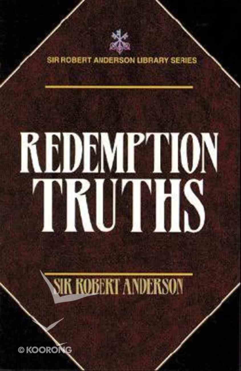 Redemption Truths Paperback