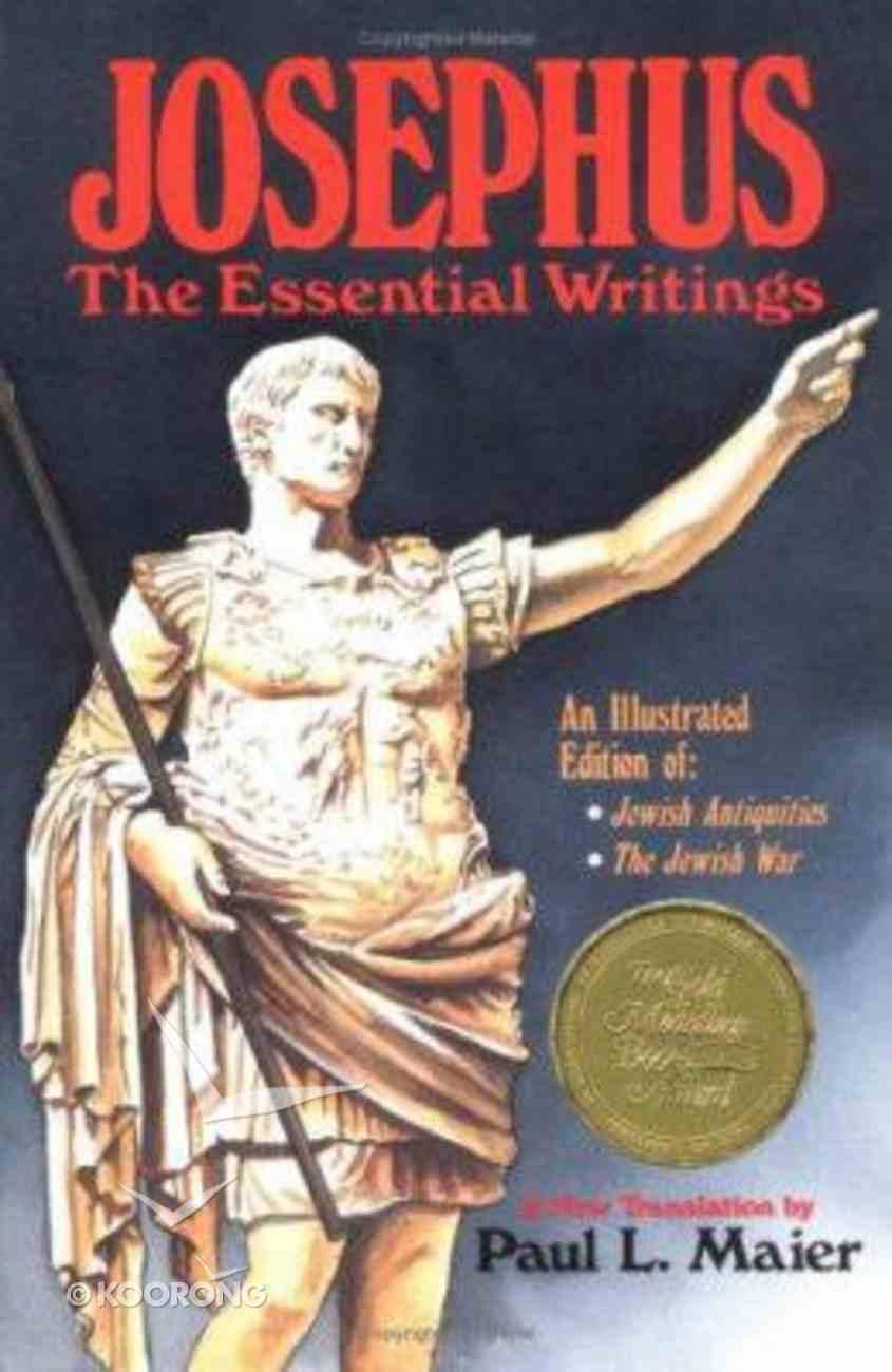 Josephus: The Essential Writings Paperback