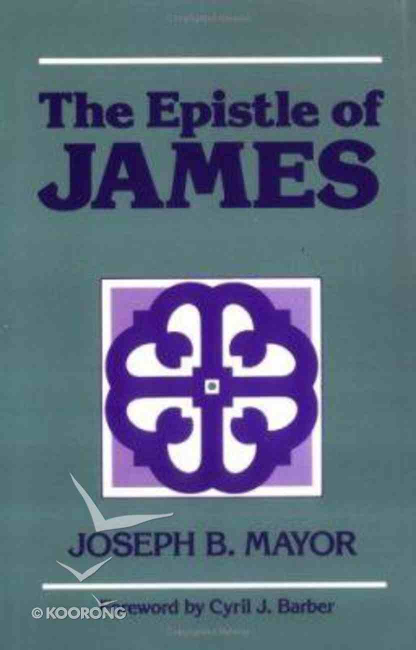The Epistle of James Paperback