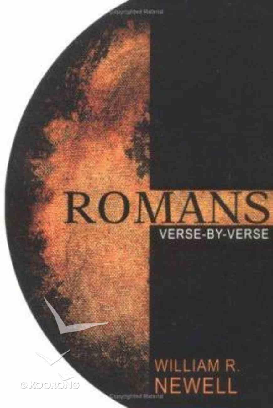 Romans: Verse-By-Verse Paperback