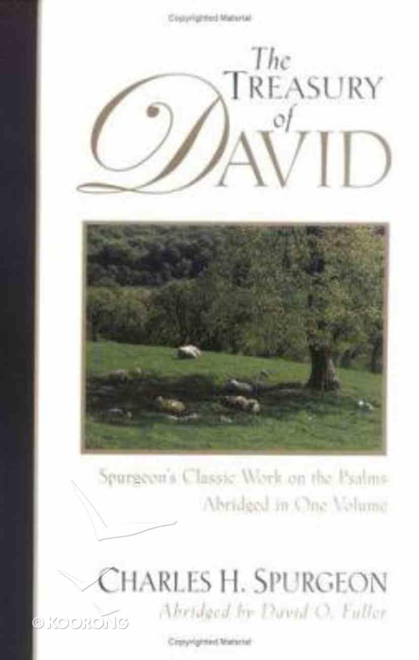 The Treasury of David Paperback
