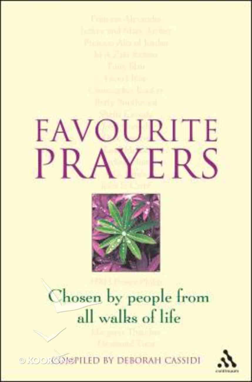 Favourite Prayers Paperback