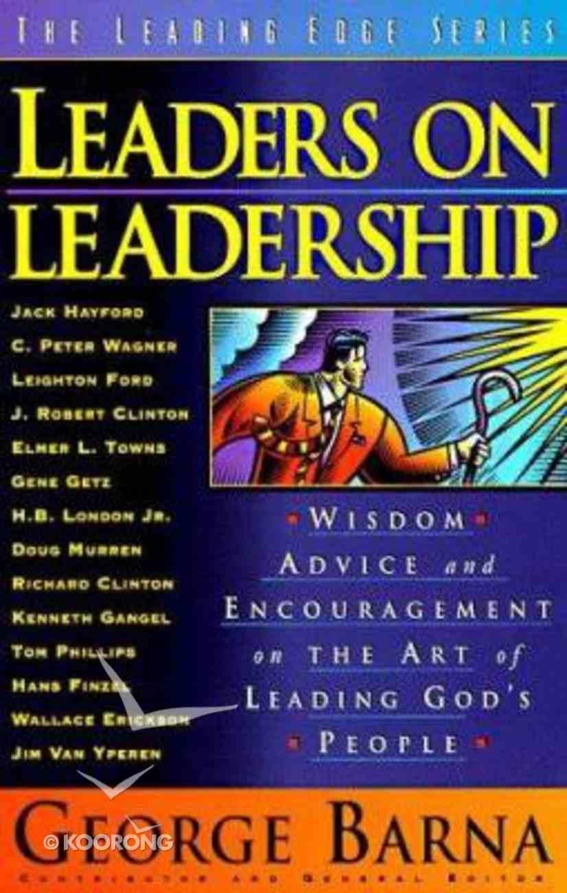 Leaders on Leadership Hardback