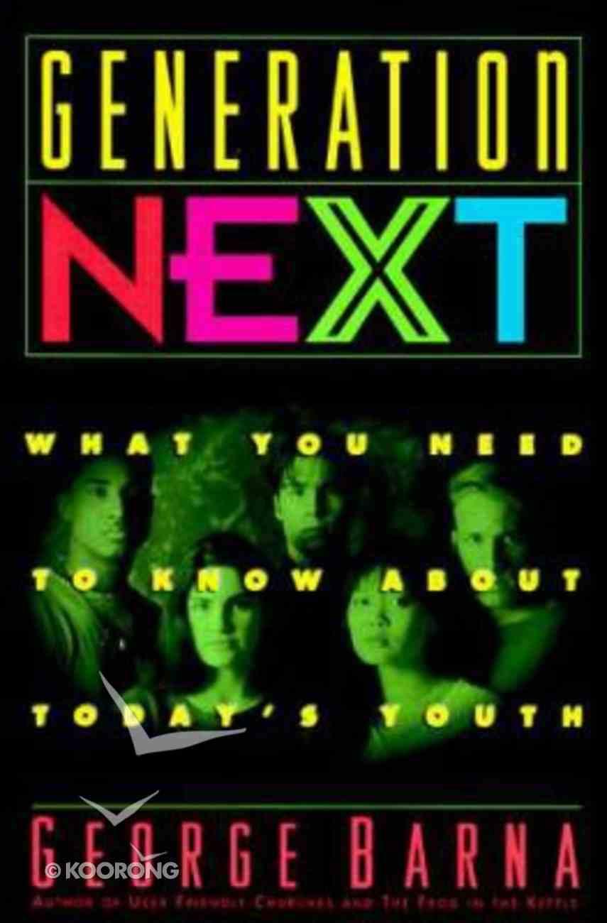 Generation Next Paperback