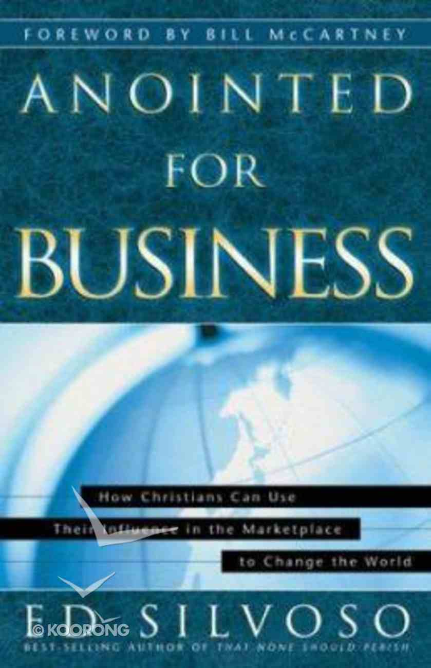 Anointed For Business Paperback