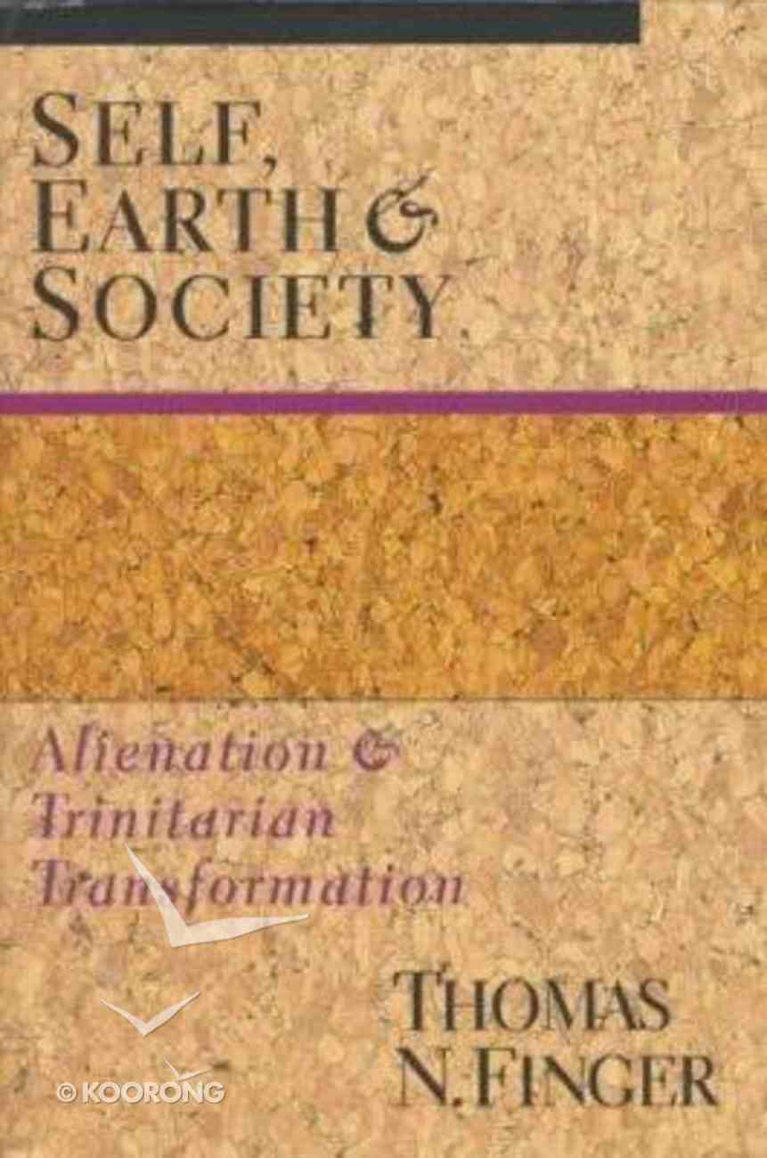 Self, Earth and Society Paperback