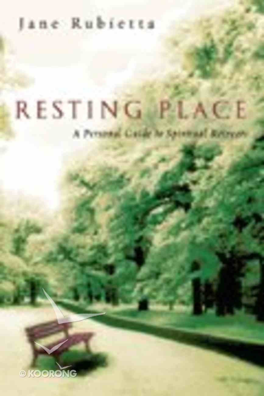 Resting Place Paperback