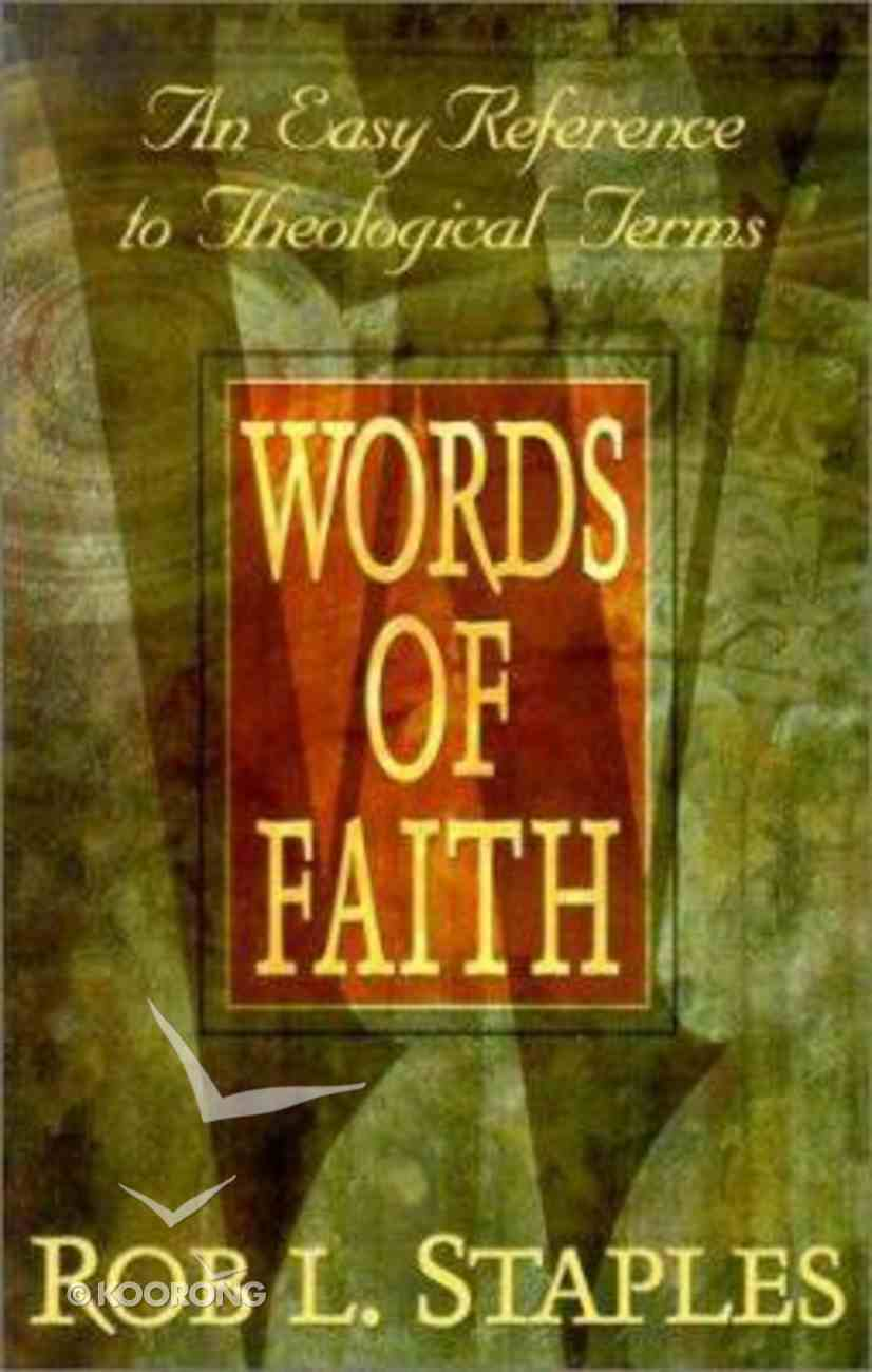 Words of Faith Paperback