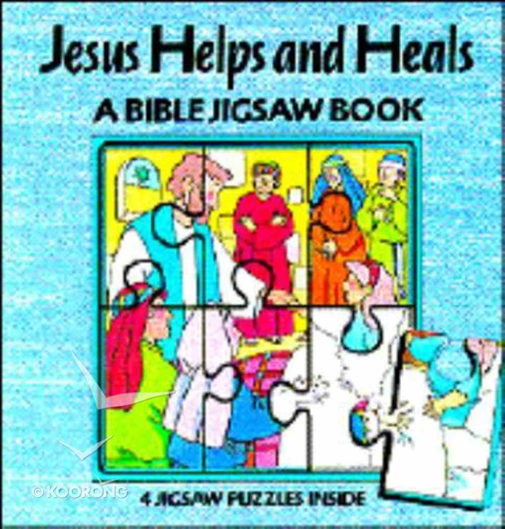Jesus Helps & Heals Jigsaw Book Hardback