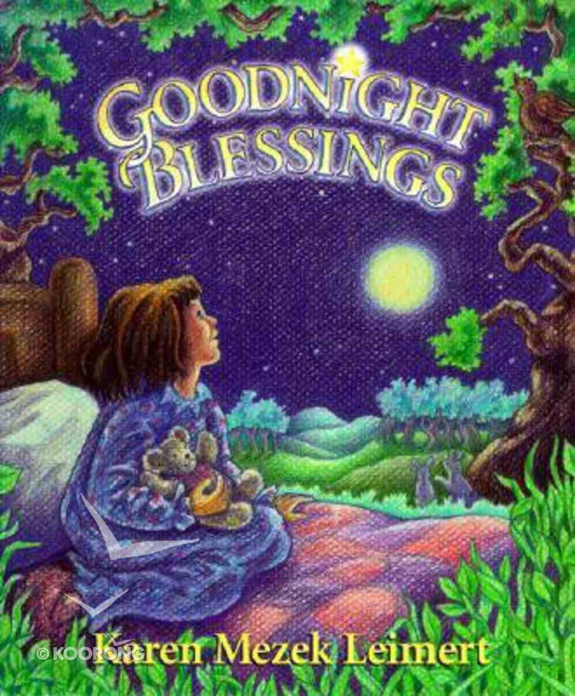 Goodnight Blessings Hardback