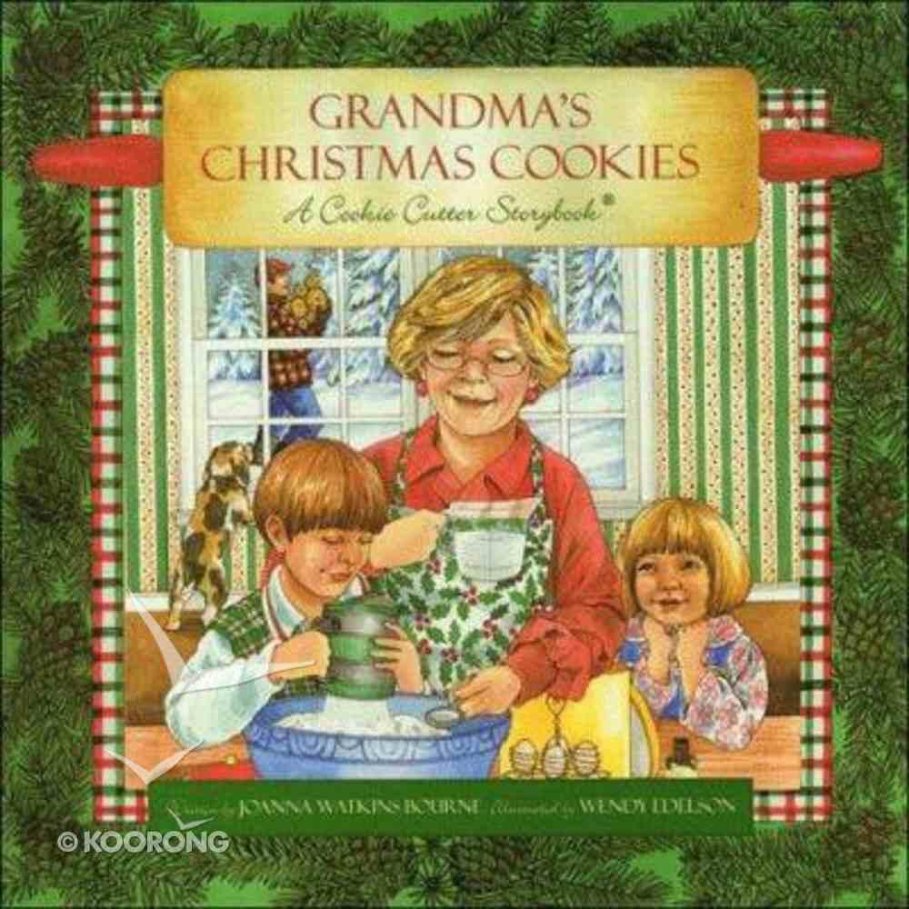 Grandma's Christmas Cookies Hardback
