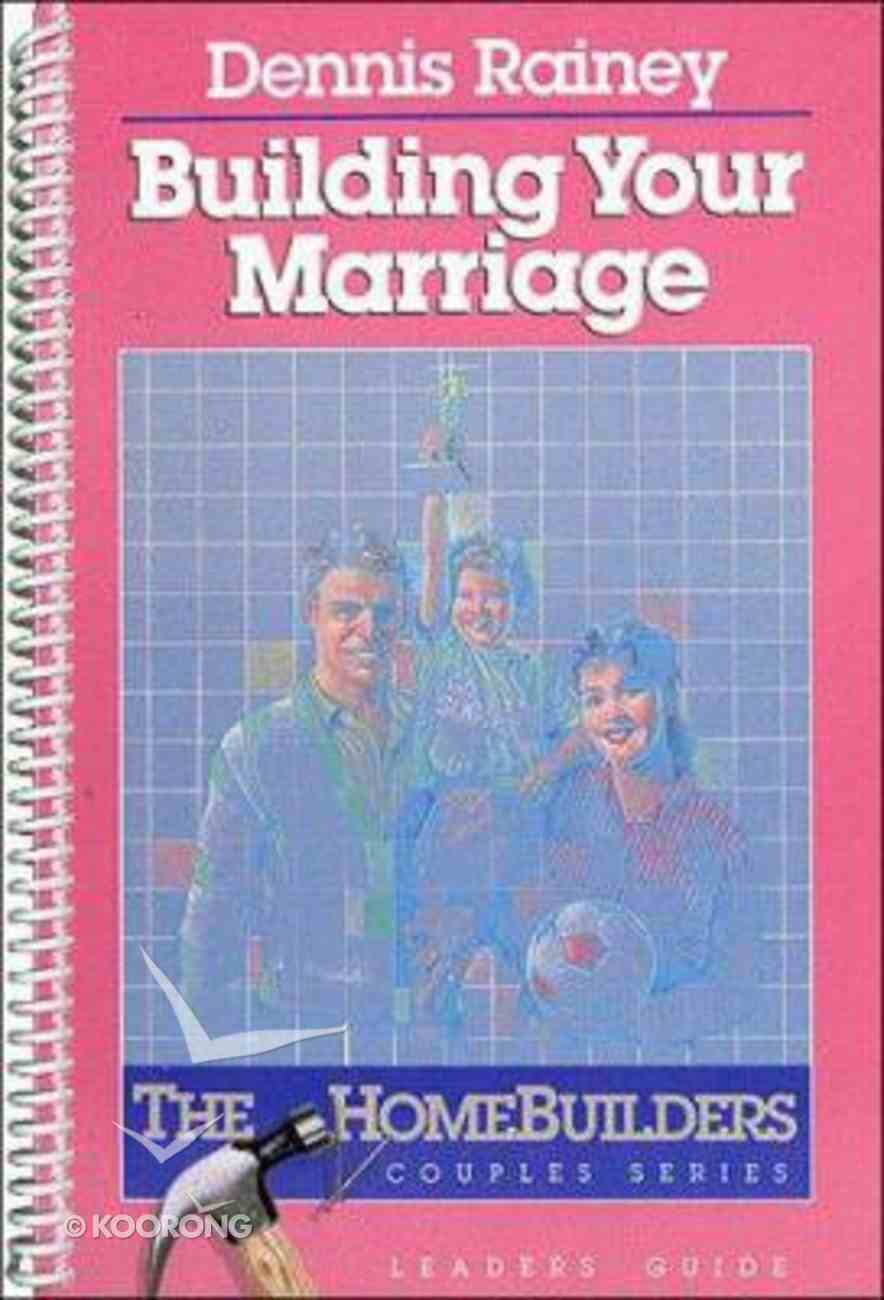 Building Your Marriage Lg Spiral