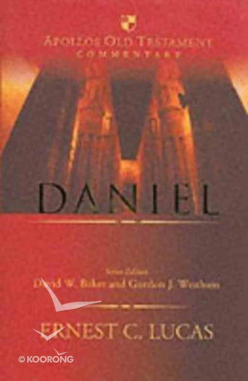 Daniel (Apollos Old Testament Commentary Series) Hardback