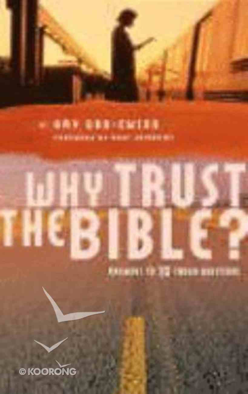 Why Trust the Bible? Paperback