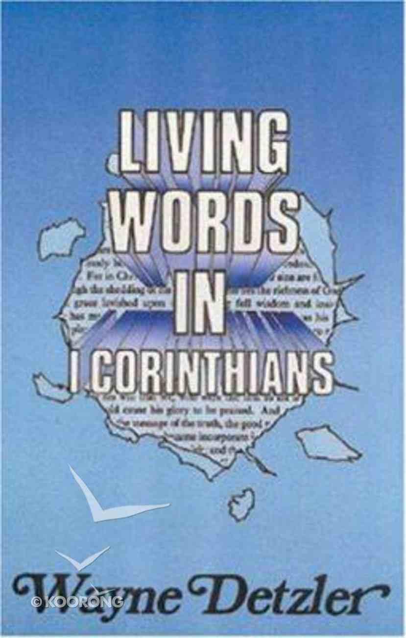 Living Words in 1 Corinthians Paperback
