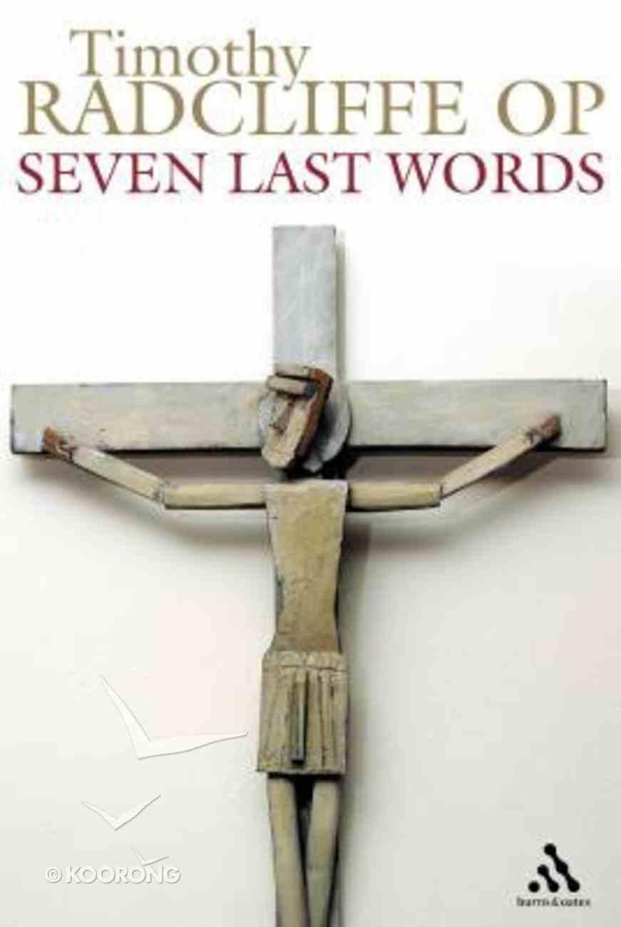 Seven Last Words Paperback