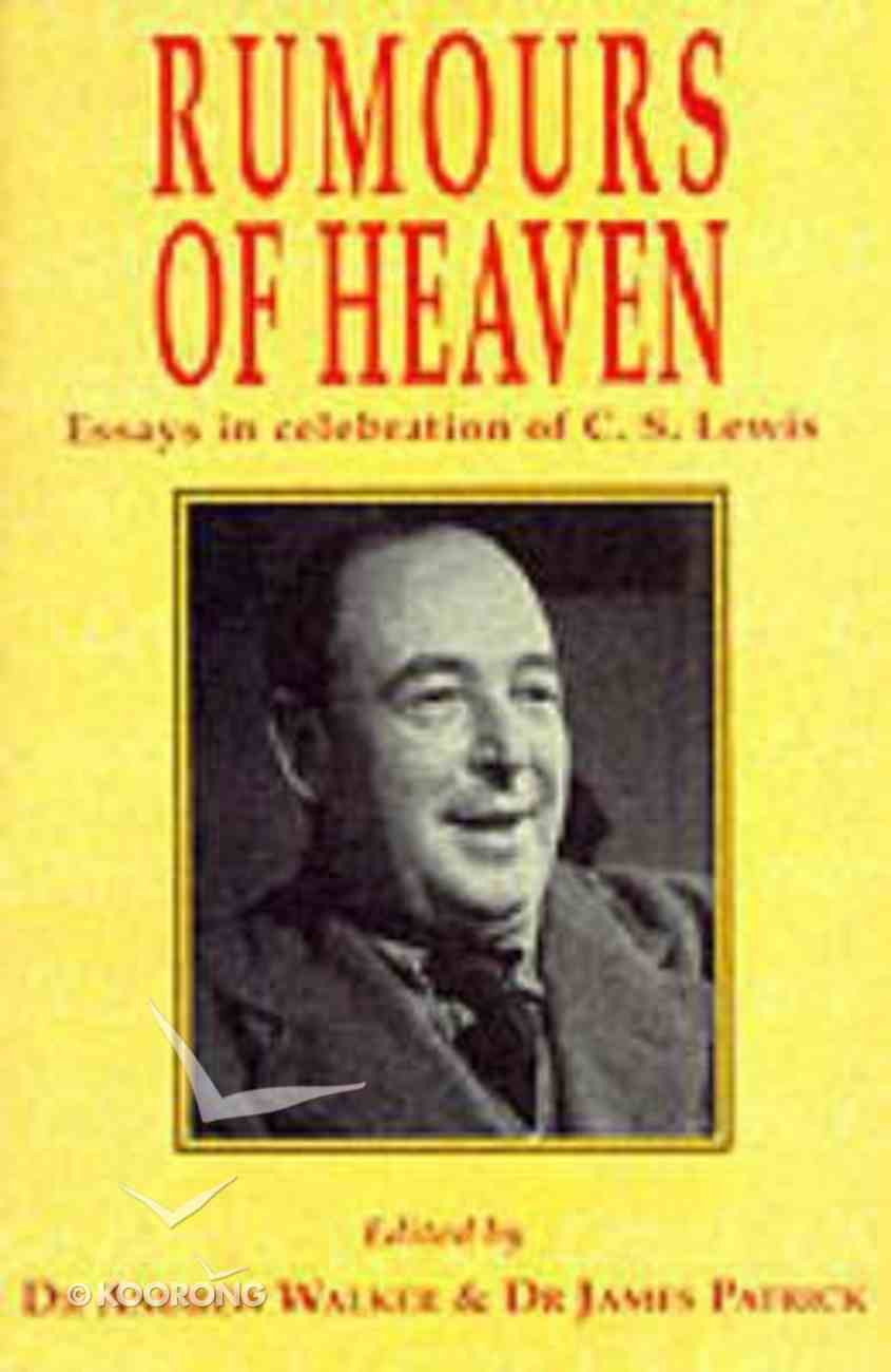 Rumours of Heaven Paperback