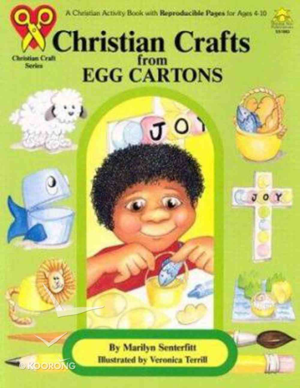 Christian Crafts From Egg Cartons Paperback