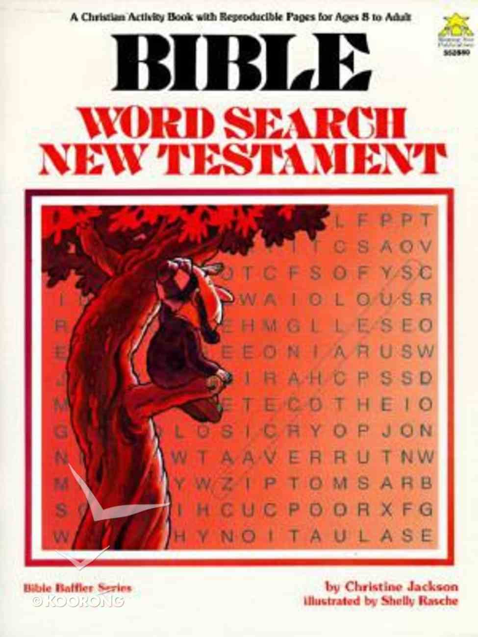 Bible Word Search New Testament Paperback