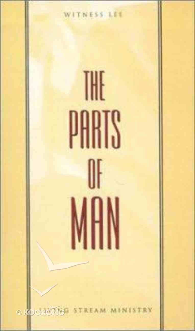 The Parts of Man Paperback