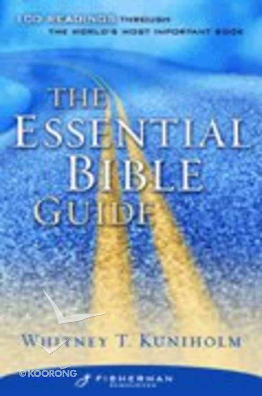 The Essential Bible Study Guide (Fisherman Bible Studyguide Series) Paperback